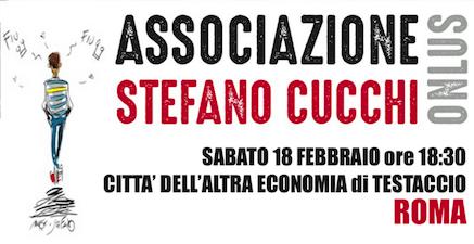 Presentazione Stefano Cucchi Onlus: il programma aggiornato