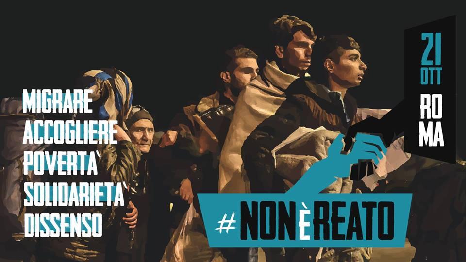 #21ottobre #nonèreato Centinaia le adesioni alla manifestazione contro il razzismo