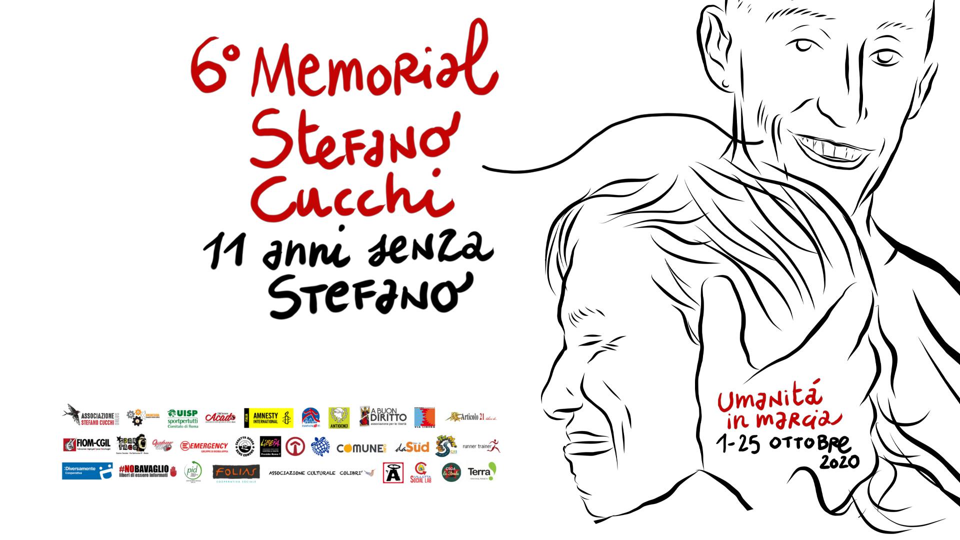 6° Memorial Stefano Cucchi